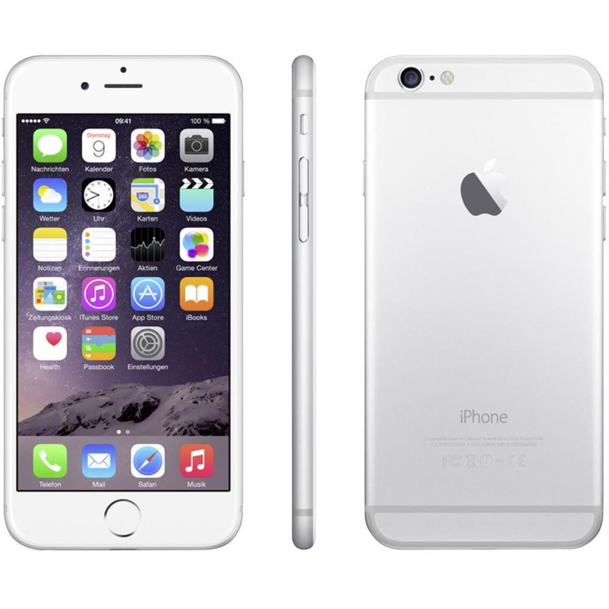 cheap t mobile iphone apple iphone 6 32gb smartphone t mobile silver 13802