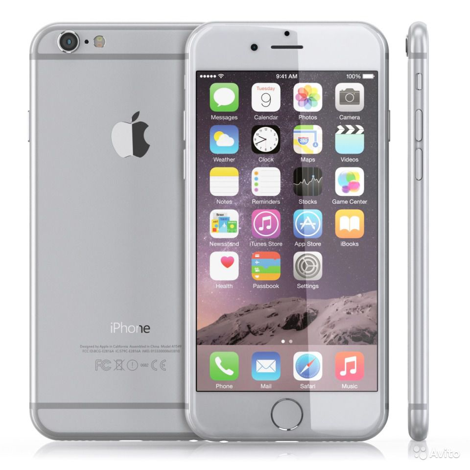 apple iphone 6 64gb smartphone verizon silver. Black Bedroom Furniture Sets. Home Design Ideas