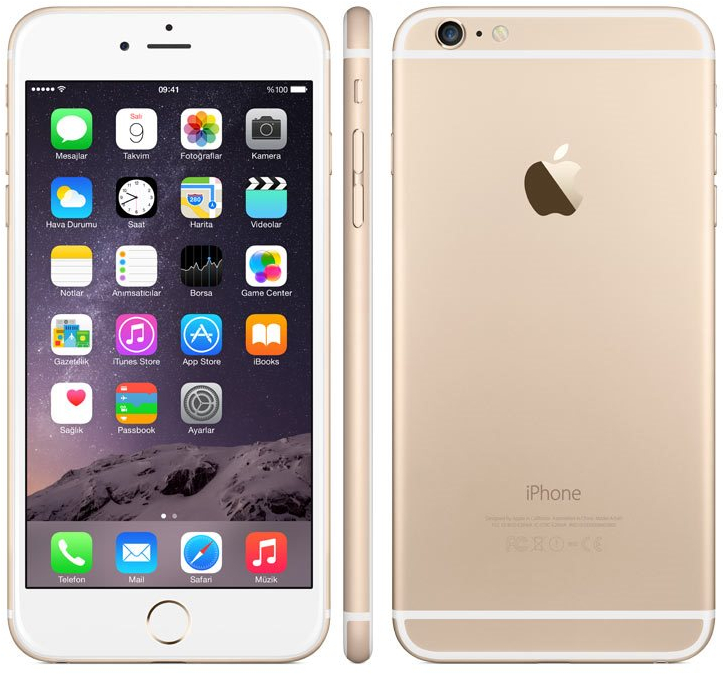 Apple iPhone 6 Plus 128GB Smartphone - T-Mobile - Gold