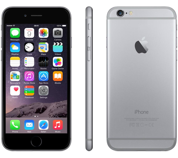 apple iphone 6s 128gb smartphone verizon space gray mint condition used cell phones. Black Bedroom Furniture Sets. Home Design Ideas