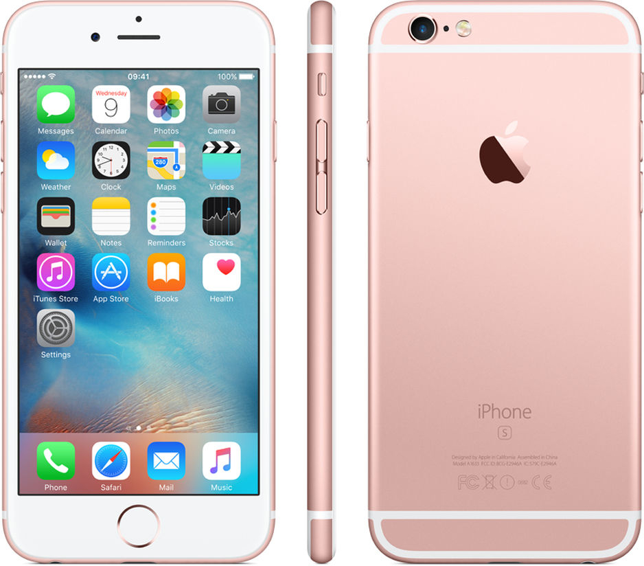 apple iphone 6s 16gb smartphone verizon rose gold. Black Bedroom Furniture Sets. Home Design Ideas