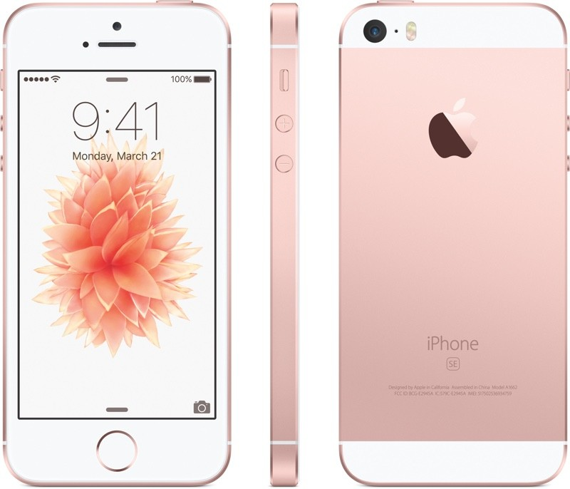Apple iPhone SE 16GB Smartphone - Unlocked GSM - Rose Gold