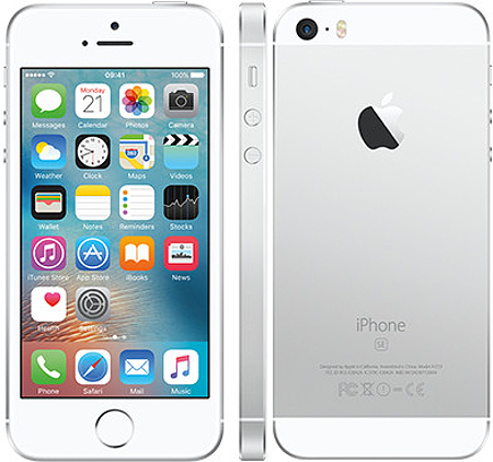 Apple iPhone SE 16GB Smartphone - Unlocked GSM - Silver