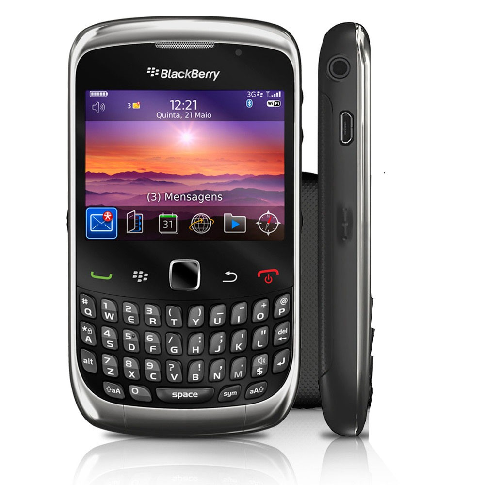 Blackberry 9300 curve 3g wifi bluetooth phone t mobile for Housse blackberry curve 9300