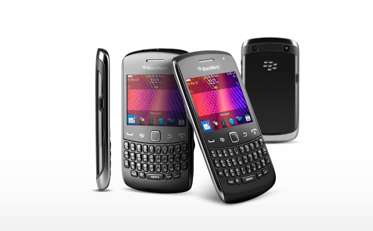 Blackberry Curve 9360 NFC WiFi GPS PDA Thin Phone Unlocked - Fair Condition : Used Cell Phones