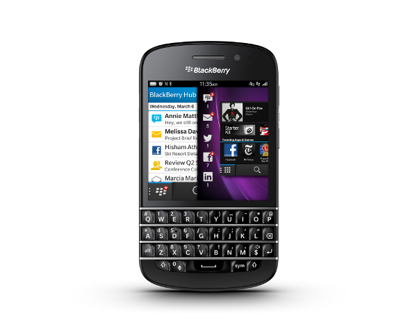 Blackberry Q10 Bluetooth NFC 4G LTE WiFi Phone Verizon