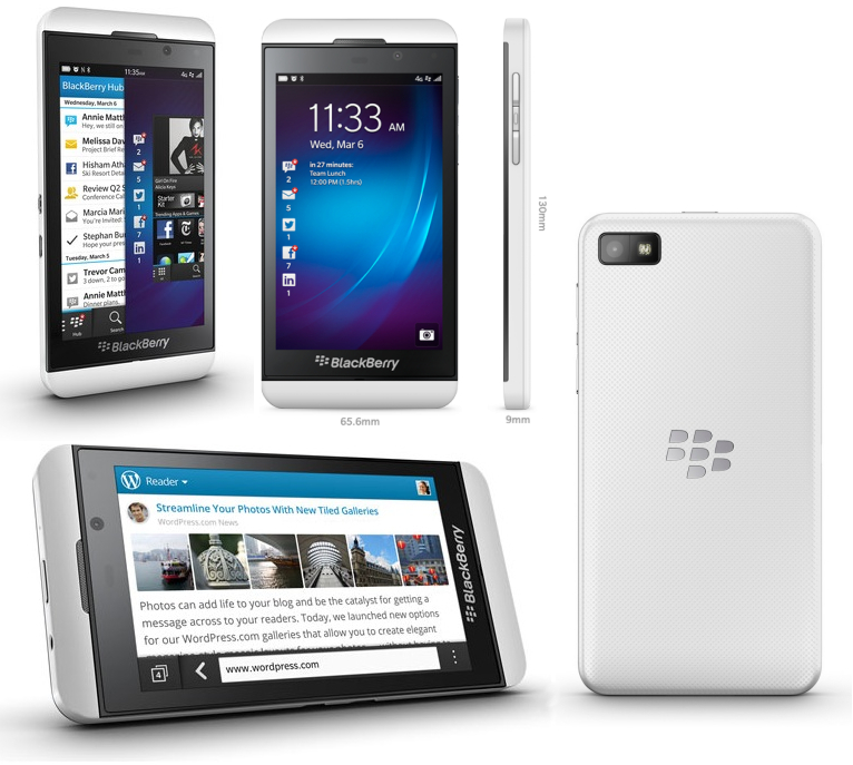 blackberry z10 white verizon - photo #1