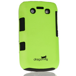Dragonfly BlackBerry 9700 Tandem Case - Neon Green