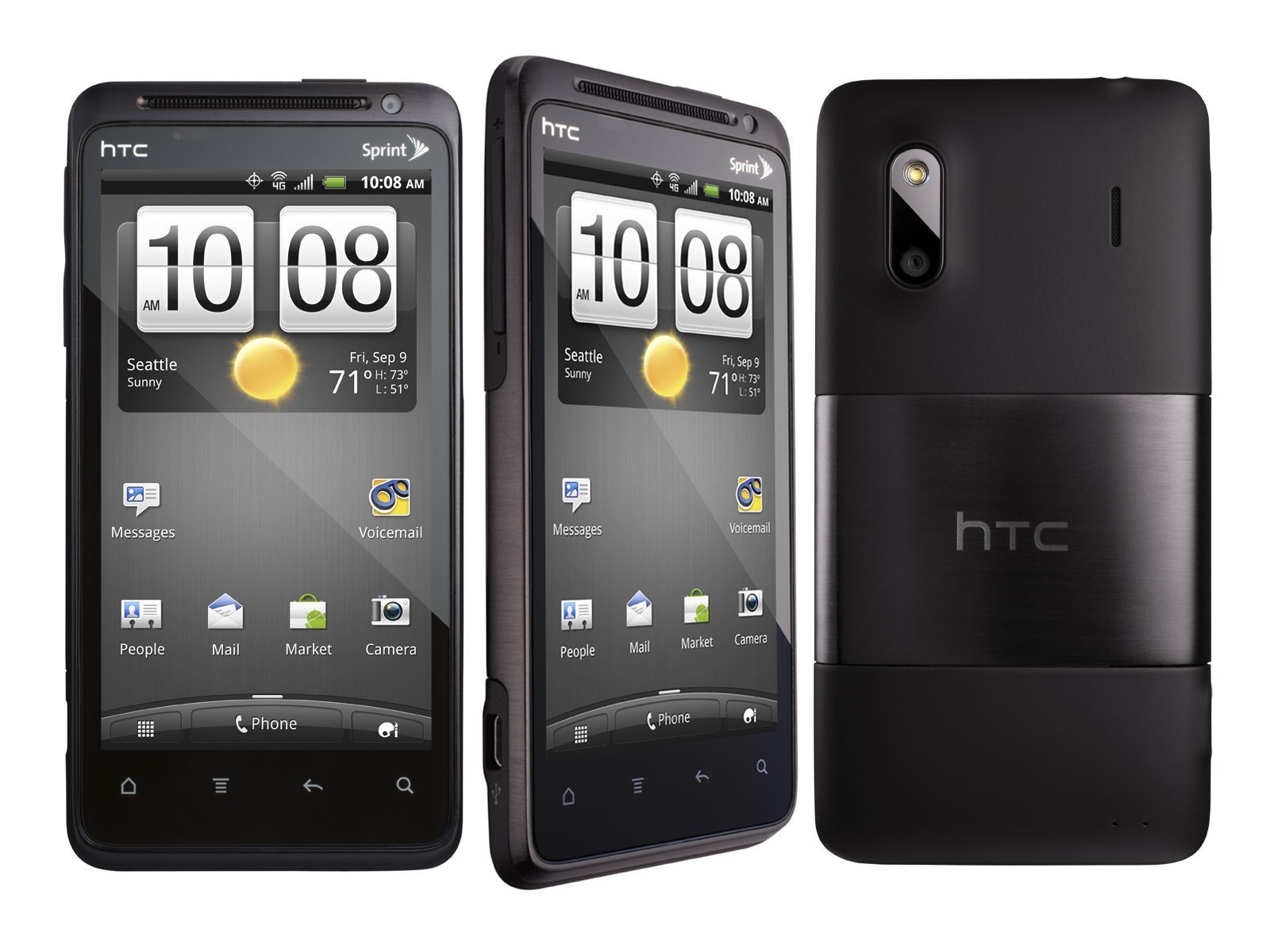htc evo design 4g wimax android smart phone boost mobile excellent condition used cell. Black Bedroom Furniture Sets. Home Design Ideas