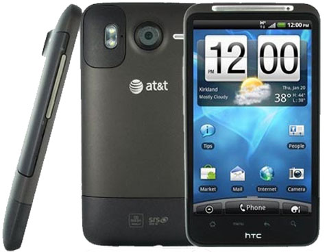 htc inspire 4g android smartphone unlocked gsm black excellent condition used cell. Black Bedroom Furniture Sets. Home Design Ideas