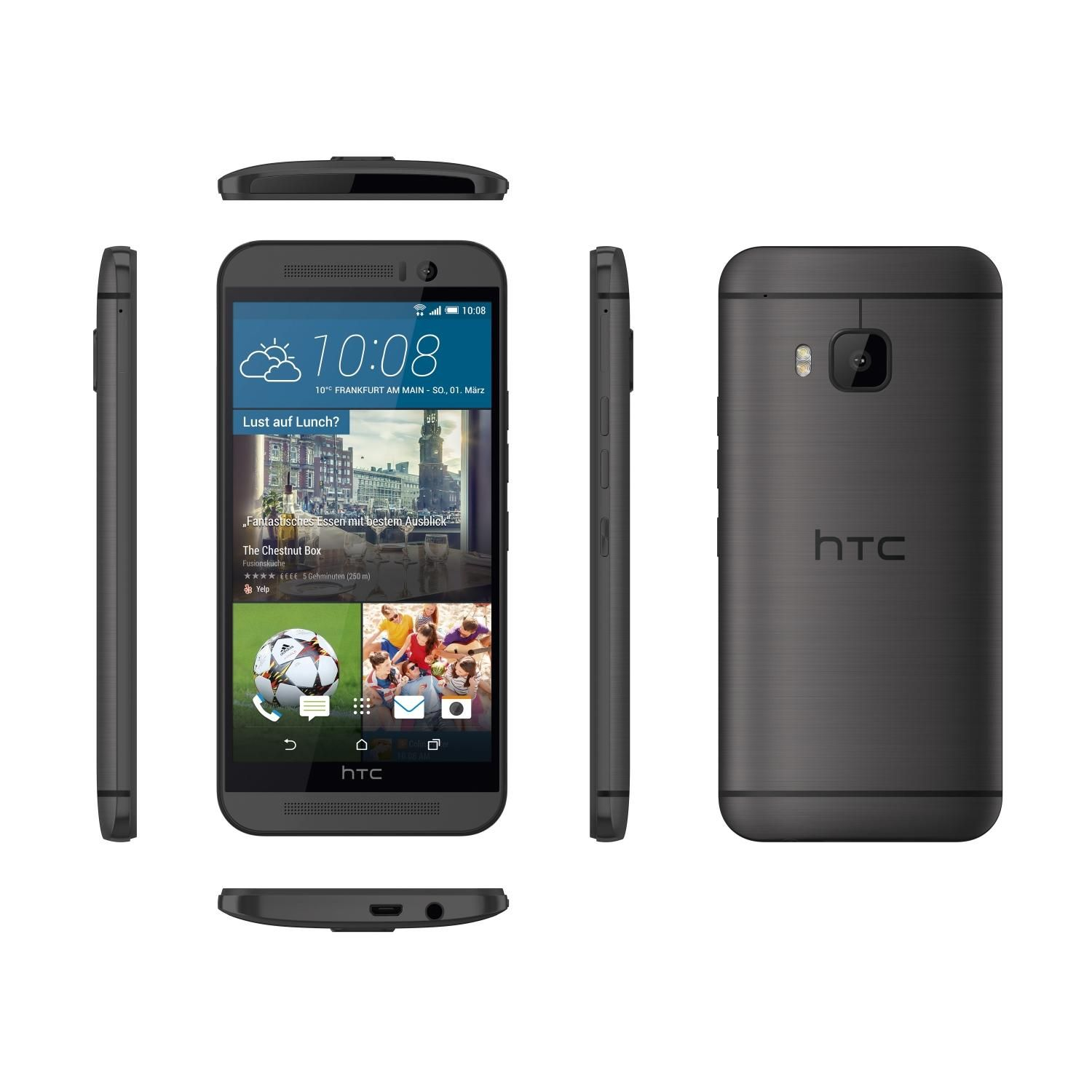 HTC One M9 32GB Android Smartphone for Verizon - Gray - Good Condition : Used Cell Phones, Cheap ...