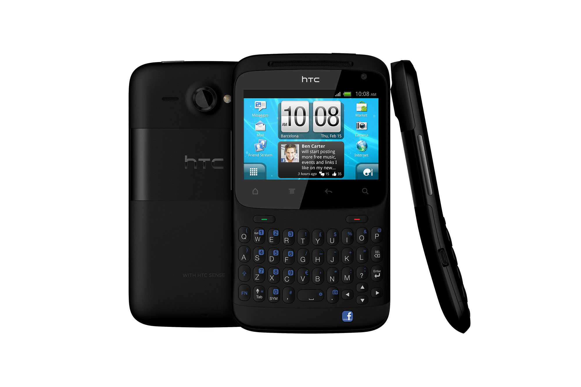 htc status android facebook smartphone unlocked gsm fair condition used cell phones cheap. Black Bedroom Furniture Sets. Home Design Ideas