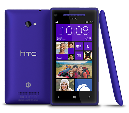 HTC Windows Phone 8X Bluetooth WiFi GPS 4G LTE Unlocked in Blue