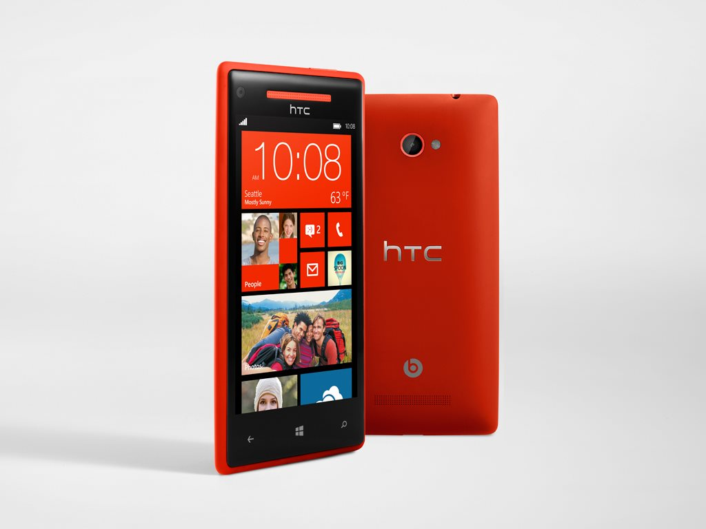 Htc windows phone 8x nfc wifi red 4g lte phone verizon for Window 4g phone