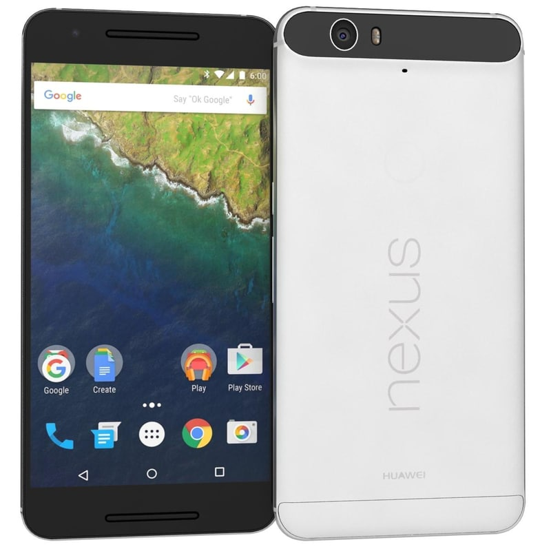 Huawei Nexus 6P H1511 32GB Android Smartphone - Sprint - Frost White