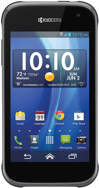 kyocera hydro xtrm 4g gsm waterproof milspec android phone