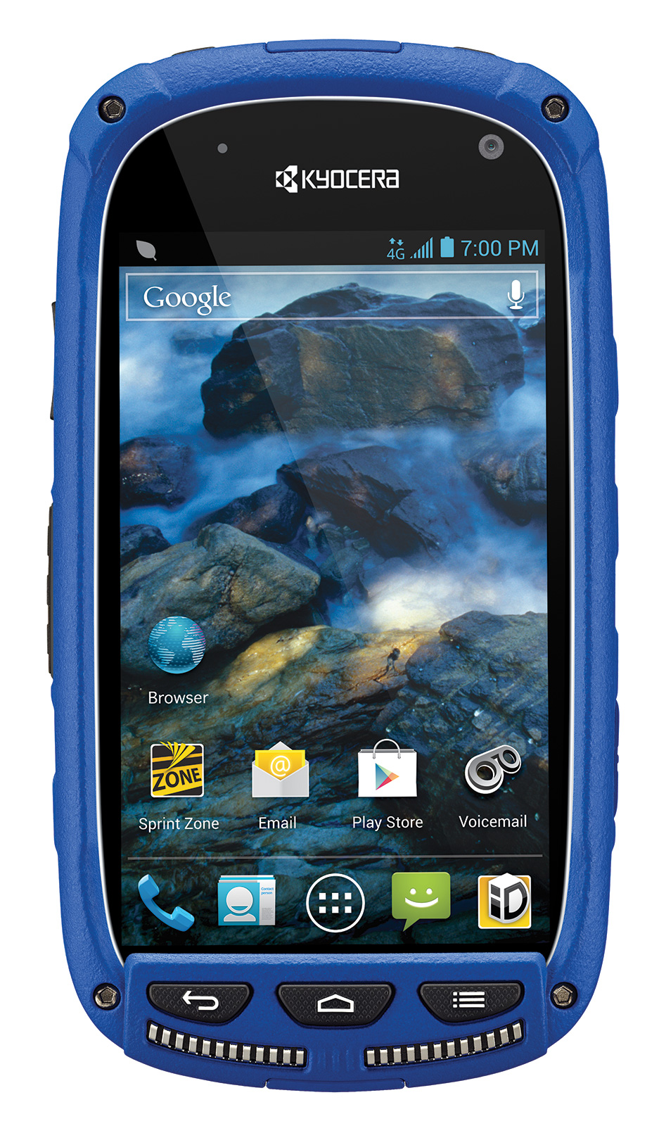 Phone Android Phone Used kyocera torque rugged blue 4g lte android phone sprint excellent sprint