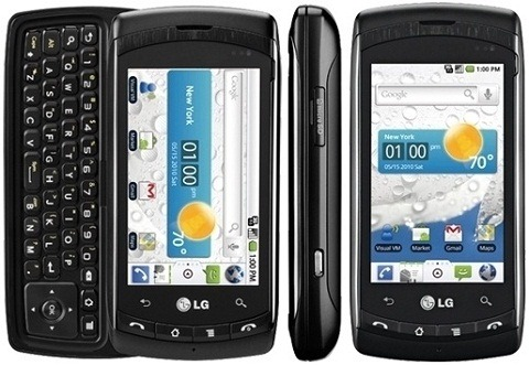 lg ally vs740 3g qwerty messaging android smartphone verizon black rh cellularcountry com