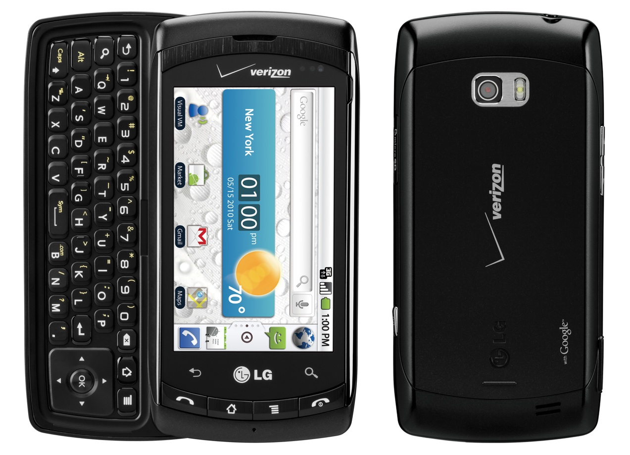 LG Ally VS740 3G QWERTY Messaging Android Smartphone ...