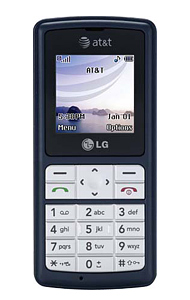 LG CG180 Small Color Bar Speaker Phone ATT Cingular