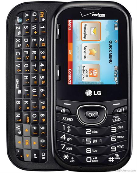 Lg Cosmos 2 Vn251pp Slider Phone For Verizon Prepaid