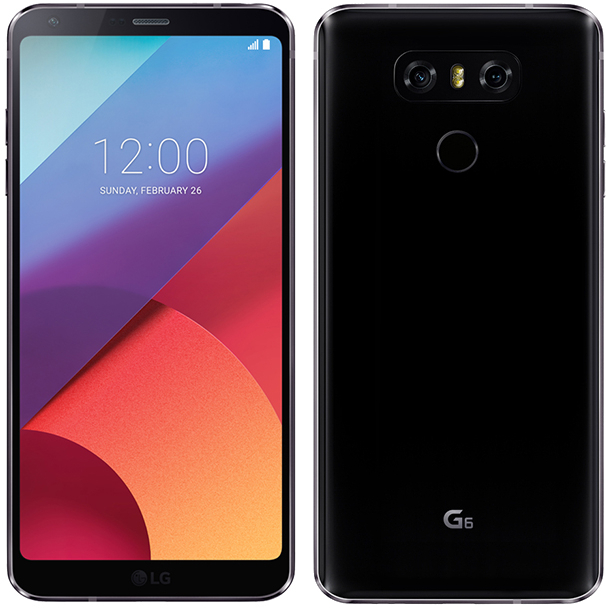 Lg G6 H871 32gb Android Smartphone Cricket Wireless Black