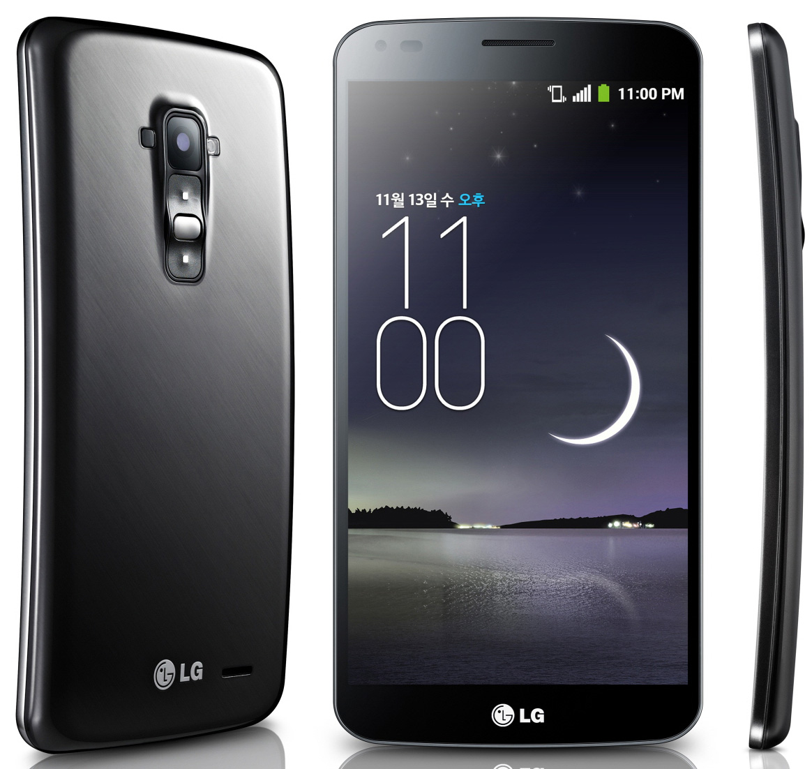 LG G Flex Full HD Display 4G LTE Android Phone with Curved Display