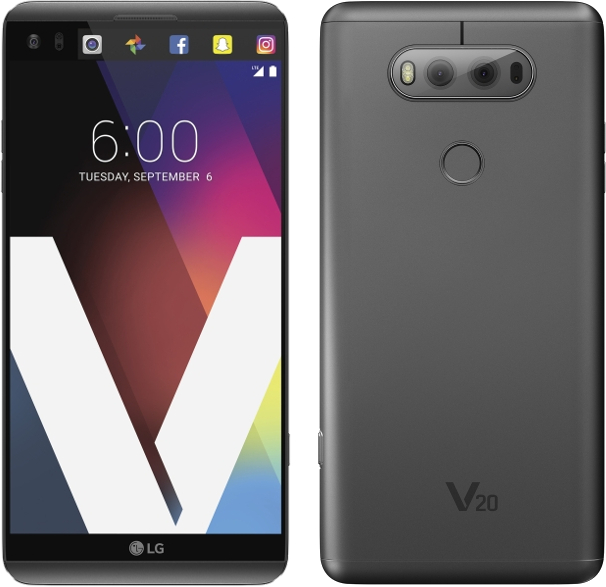 LG V20 H910 64GB Android Smartphone - Tracfone - Gray