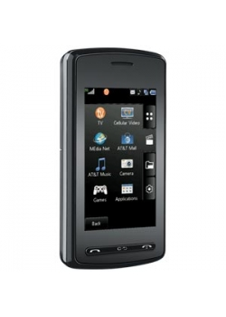 LG VU CU920 Bluetooth Camera TV MP3 Phone ATT