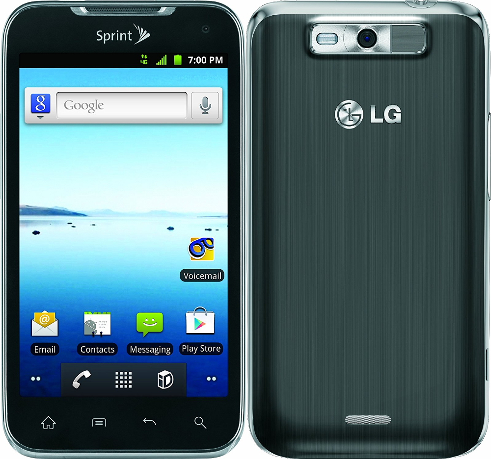 Phone Android Used Phones lg viper ls840 android smartphone sprint pcs gray excellent gray
