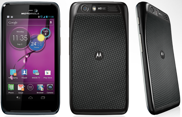 Motorola Atrix HD for ATT Wireless in Black