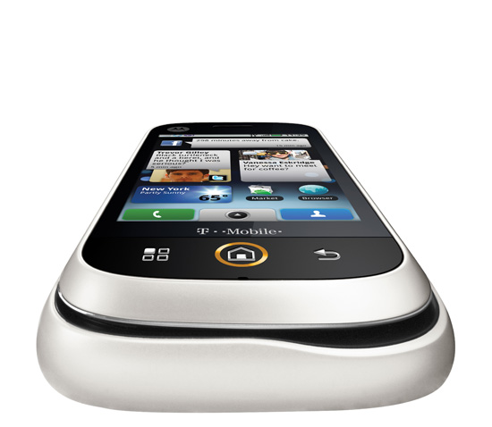 motorola cliq bluetooth wifi gps 3g white phone tmobile excellent condition used cell phones. Black Bedroom Furniture Sets. Home Design Ideas