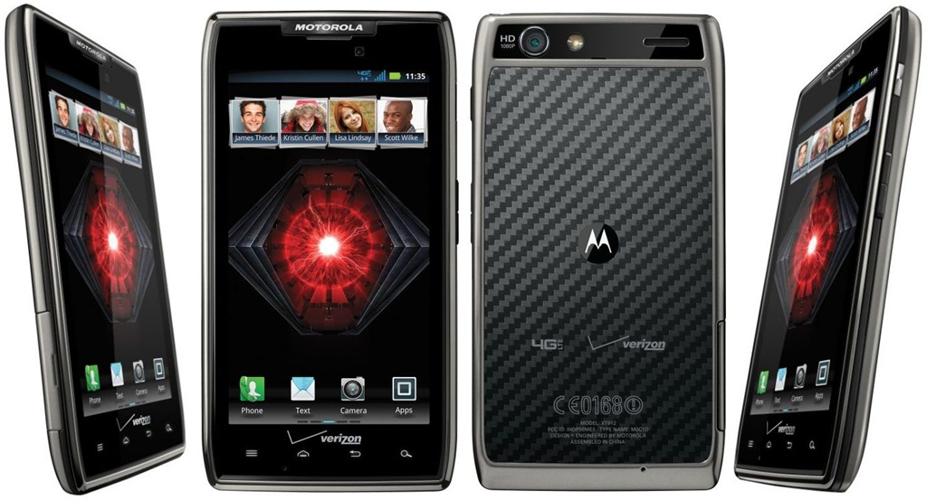 Motorola Droid RAZR 16GB XT912 Android Smartphone for Verizon - Black
