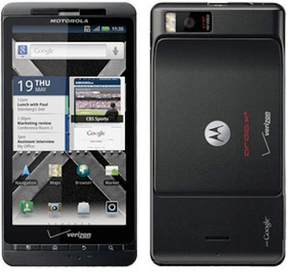 Electronic Motorola Android Smart Phone motorola droid x 8gb mb810 android smartphone for verizon black black