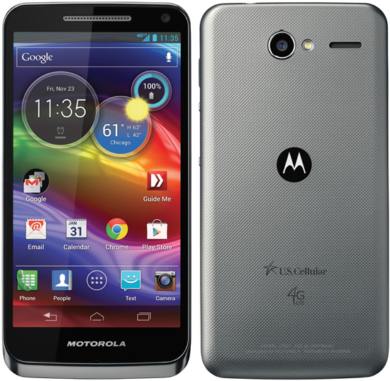Motorola Electrify M Thin Android 4G LTE Phone US Cellular ...