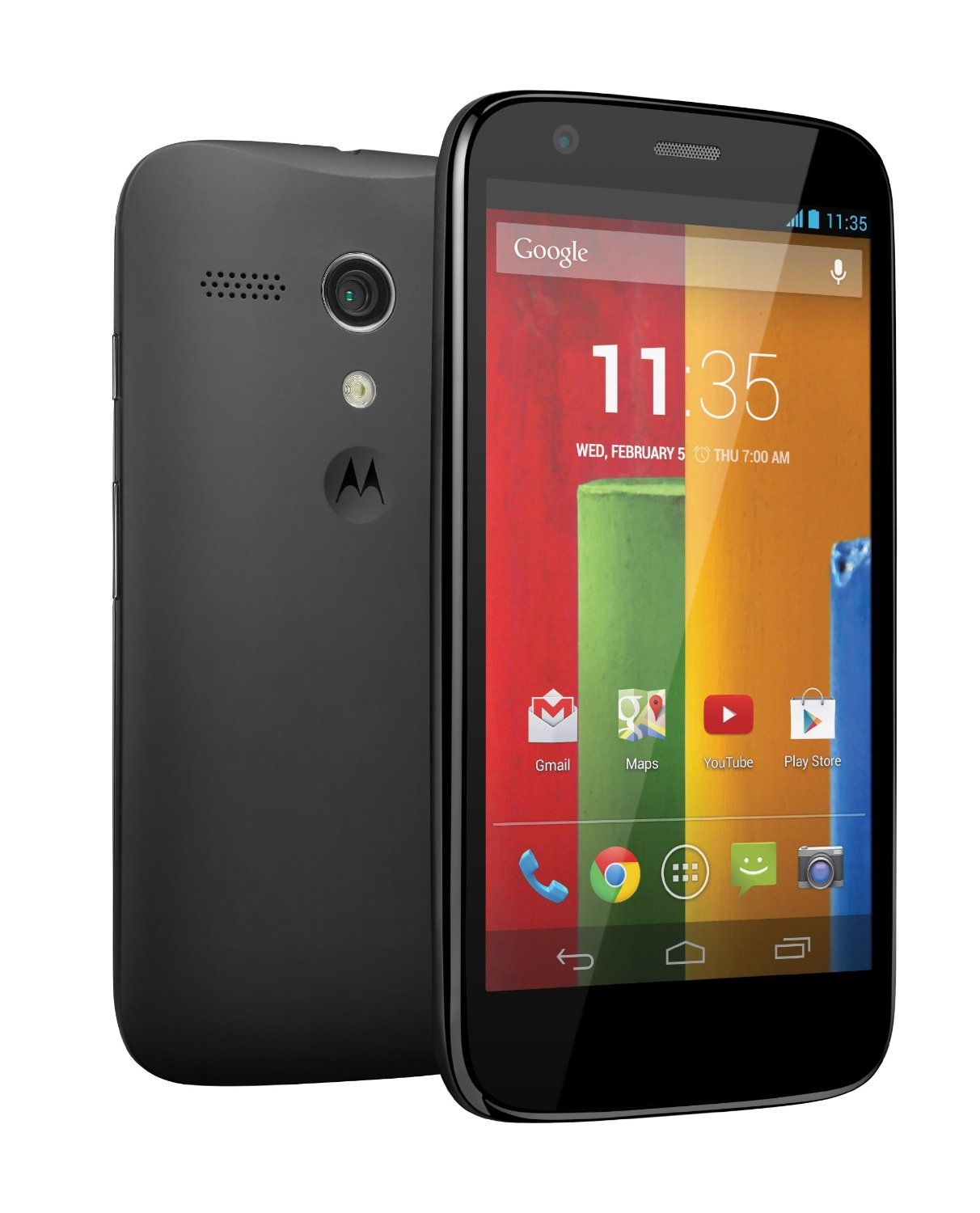 Phone Android Used Phones motorola moto g 8gb android smartphone for cricket wireless black