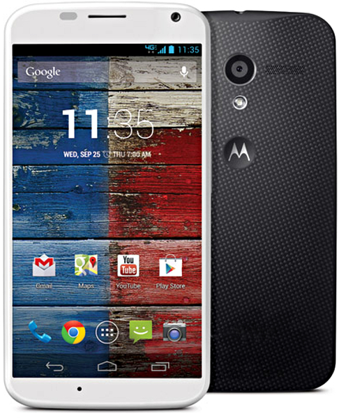 motorola moto x 16gb wifi gps android 4g lte black and white phone sprint good condition. Black Bedroom Furniture Sets. Home Design Ideas