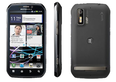 Motorola Photon 4G Bluetooth Android PDA Phone Sprint