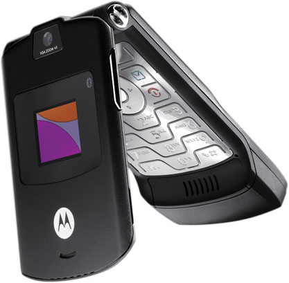Motorola Razr V3 Camera Bluetooth Black Phone Unlocked Fair Condition Used Cell Phones
