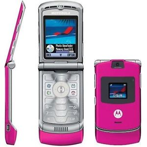 Image result for motorola razr phone pink