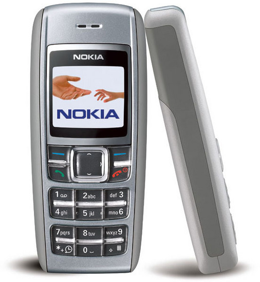 Nokia 1600 Gsm Color Small Cell Phone Unlocked Fair