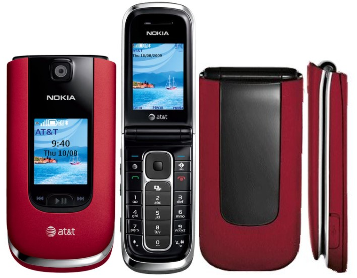 Nokia 6350 Red Bluetooth Camera Phone For At Amp T Wireless Good Condition Used Cell Phones