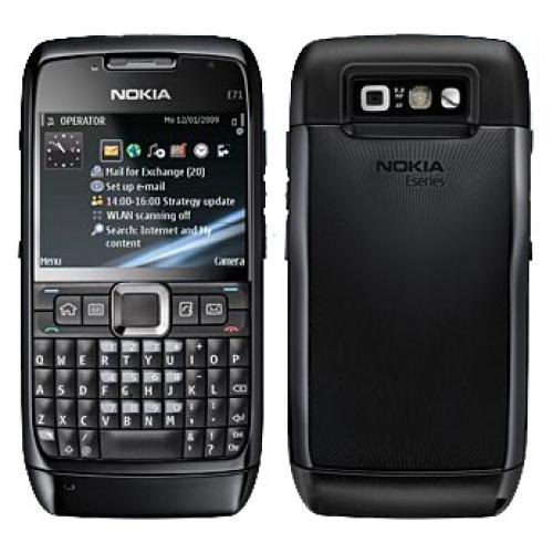 Nokia E71 for Tracfone in Black - Good Condition : Used ...