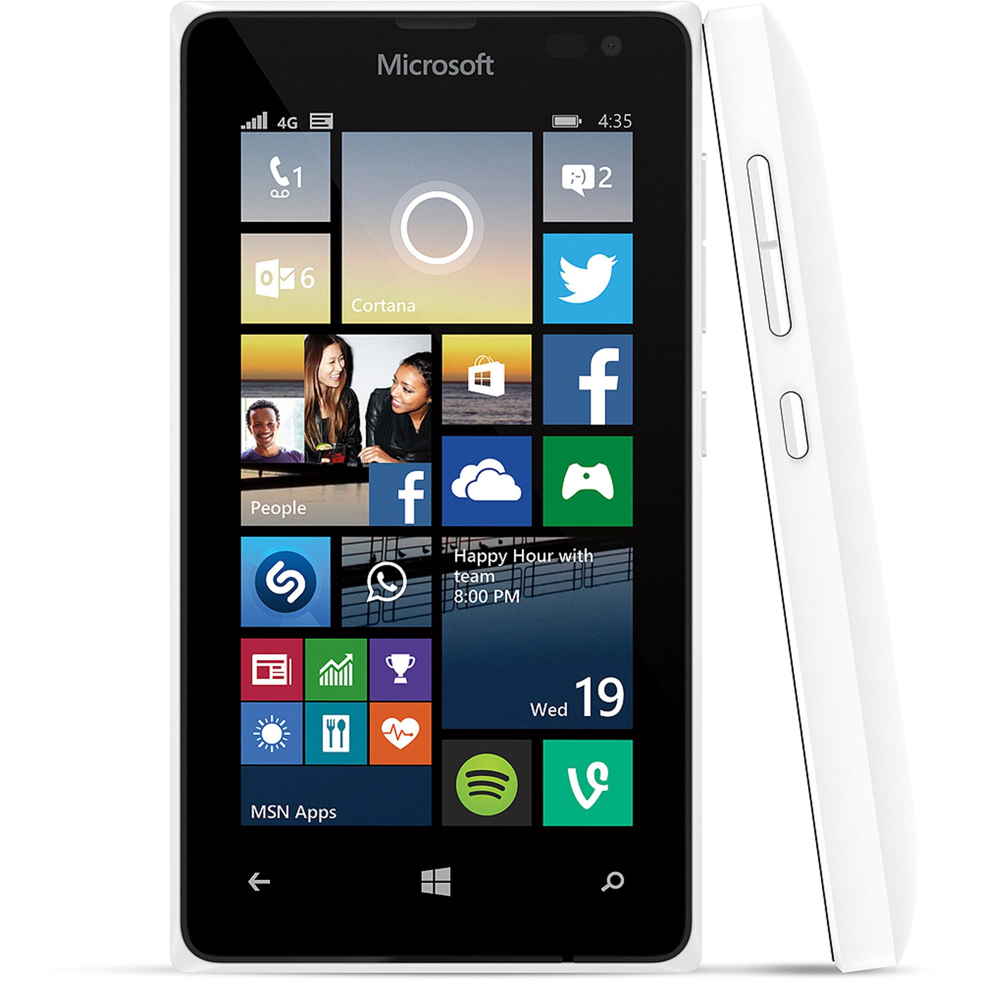 Nokia lumia 435 8gb 4g lte windows 8 1 phone with for t for Window 4g mobile