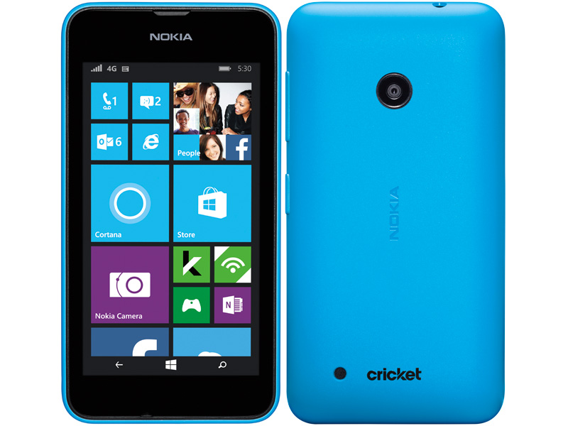 Nokia Lumia 530 3g Windows 8 Smart Phone In Blue For