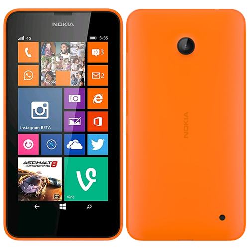 Nokia lumia 635 4g lte orange windows 8 smart phone att for Window 4g phone