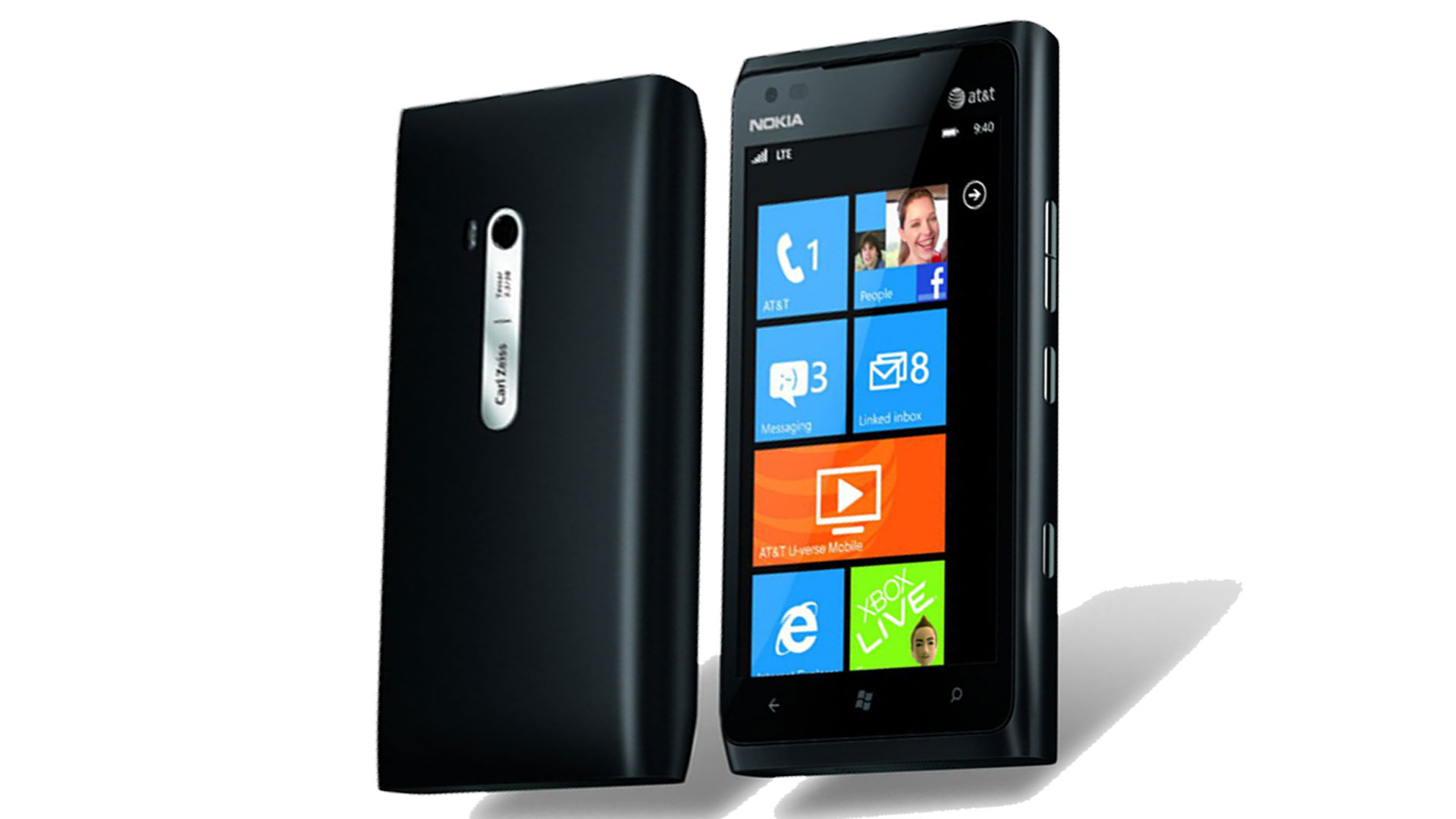 Nokia lumia 900 16gb 4g lte gps pda camera black windows for Window 4g phone
