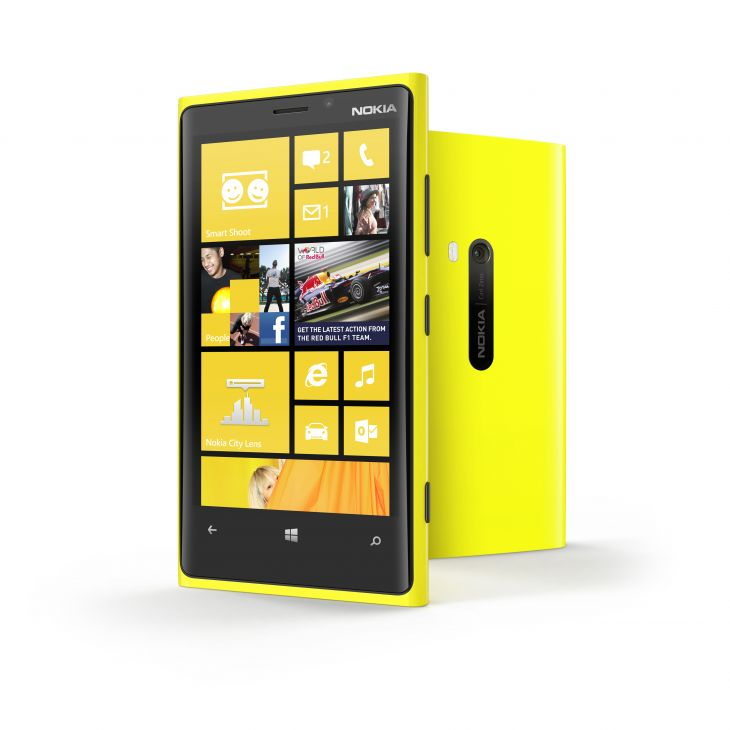 Nokia lumia 920 wifi 4g lte yellow windows phone 8 att for Window 4g phone