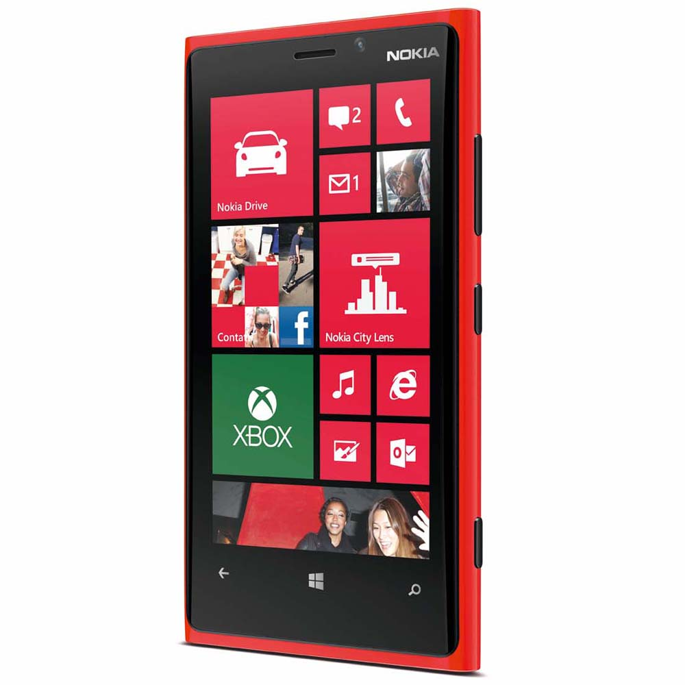 nokia lumia 920 wifi nfc 4g lte red windows phone 8 att. Black Bedroom Furniture Sets. Home Design Ideas