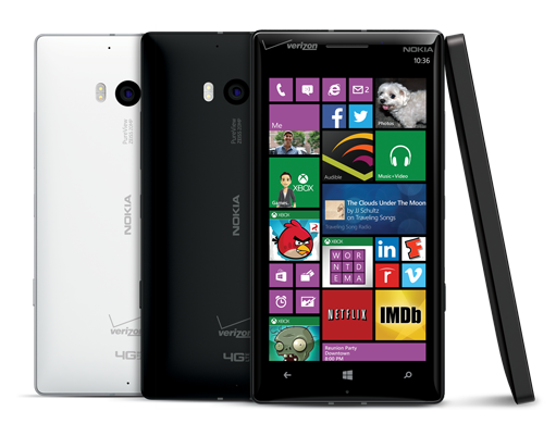 Nokia Lumia Icon Bluetooth Camera 4G LTE BLACK Windows 8 Phone Verizon